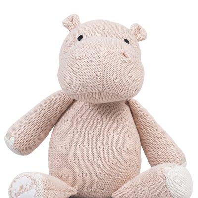 Nijlpaard Knuffel - Creamy Peach