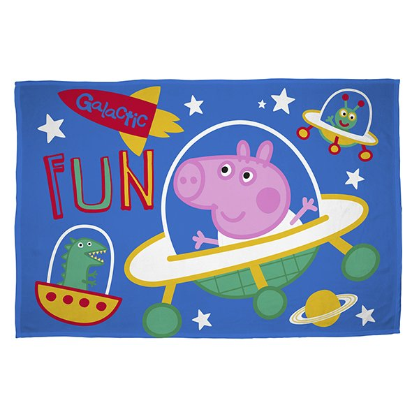 George Pig Planets - Fleece deken 100x150