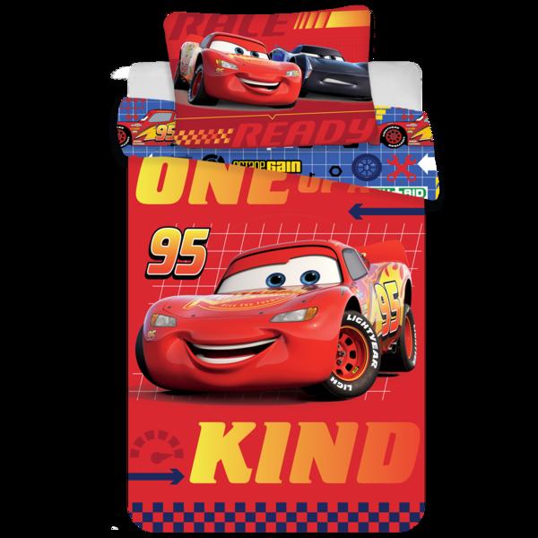 Cars dekbedovertrek ledikant 100x135 - Red