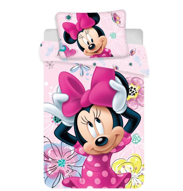 Minnie Mouse dekbedovertrek ledikant 100x135 - Butterfly