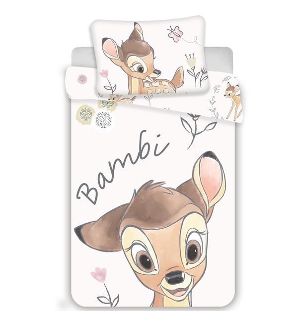 Bambi dekbedovertrek ledikant 100x135
