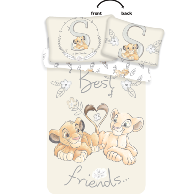 Lion King dekbedovertrek ledikant 100x135 - Best Friends