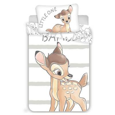 Bambi dekbedovertrek ledikant 100x135 - Stripe