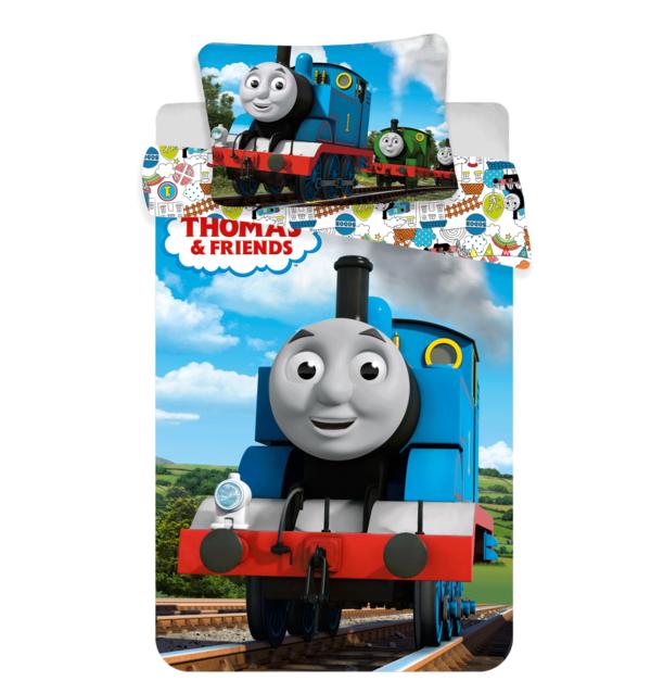 Thomas de Trein dekbedovertrek ledikant 100x135 - Funny