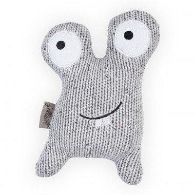 Knuffel Monster Blijhoofd - Grey