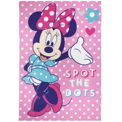 Minnie Mouse - Fleece deken 100x150