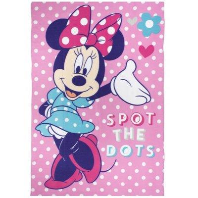 Minnie Mouse - Fleece deken 100x150