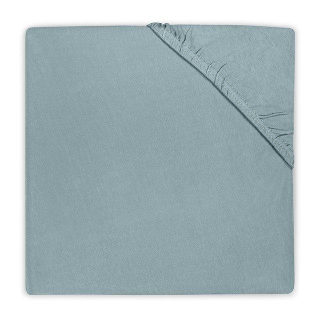 Hoeslaken ledikant 60x120 - Katoen Stone Green