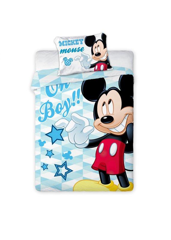 Mickey Mouse dekbedovertrek ledikant 100x135 - Oh boy