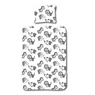 Animal dekbedovertrek 100x135 - Nappiez