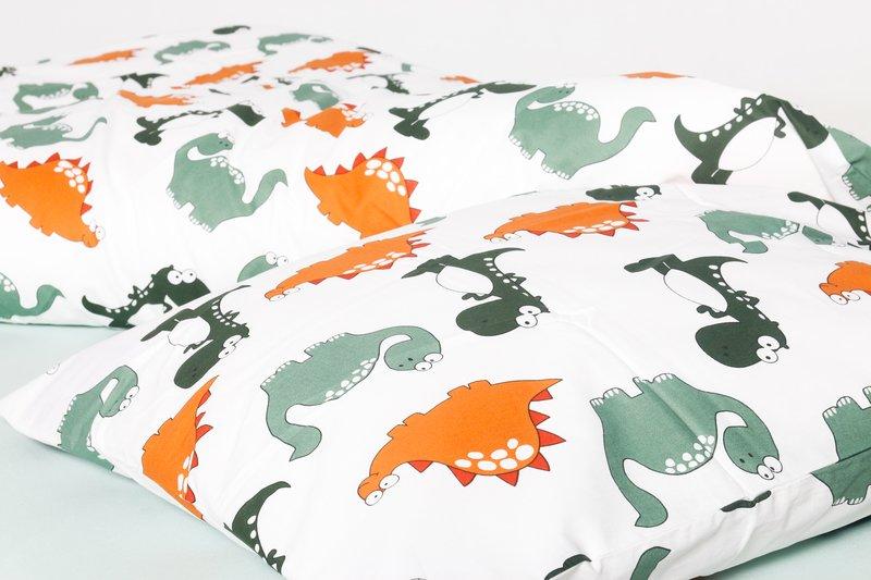Dino dekbedovertrek 100x135 - Nappiez