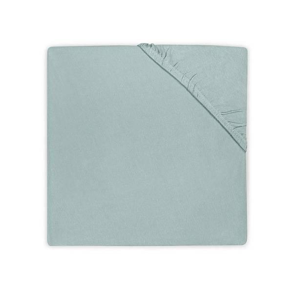 Jersey hoeslaken ledikant 60x120 - Soft Green