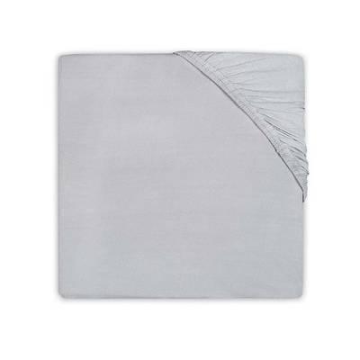 Jersey hoeslaken ledikant 60x120 - Soft Grey
