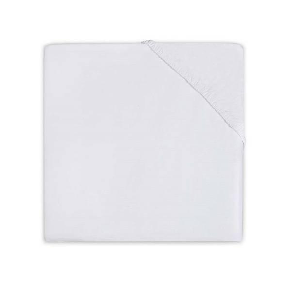 Hoeslaken 60x120 ledikant - Katoen Wit
