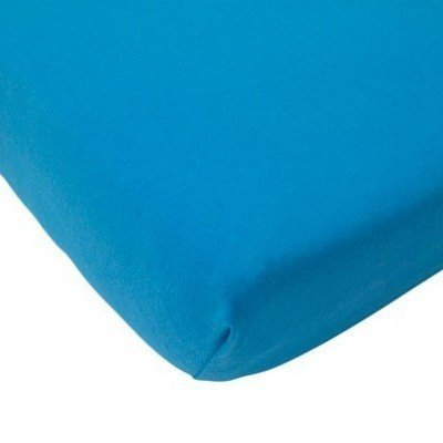 Hoeslaken ledikant 60x120 - Katoen Turquoise