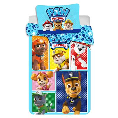Paw Patrol dekbedovertrek ledikant 100x135 - All Together
