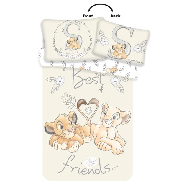 Lion King dekbedovertrek ledikant 100x135 - Best Friends