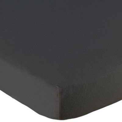Hoeslaken ledikant 60x120 - Jersey Antraciet