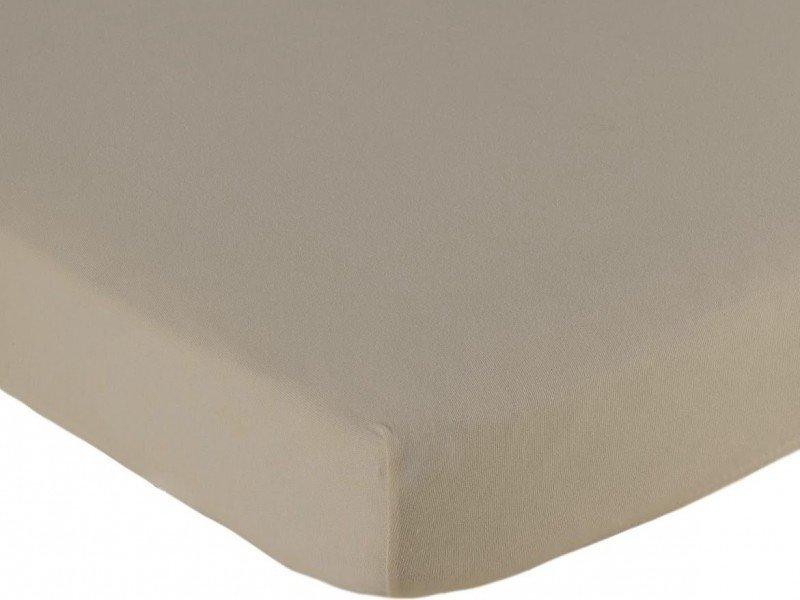 Hoeslaken ledikant 60x120 - Jersey Taupe