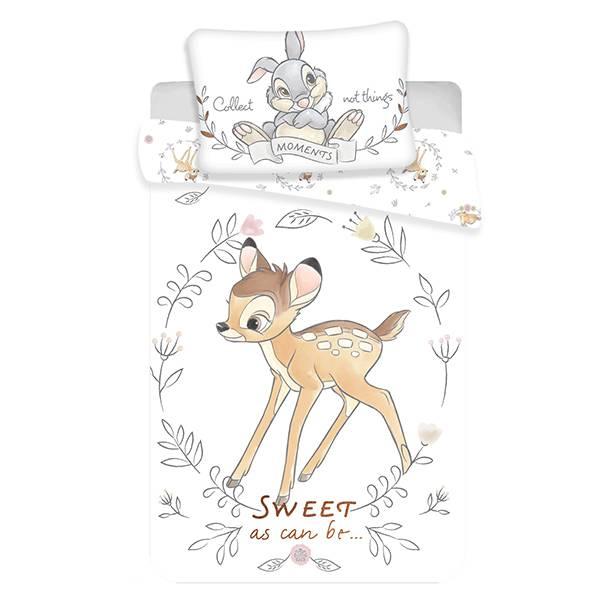 Bambi dekbedovertrek ledikant 100x135 - Sweet