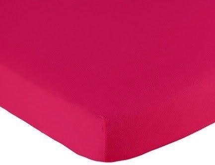 Hoeslaken ledikant 60x120 - Jersey Fuchsia