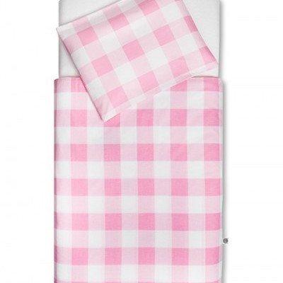 Check Pink dekbedovertrek ledikant 100x140