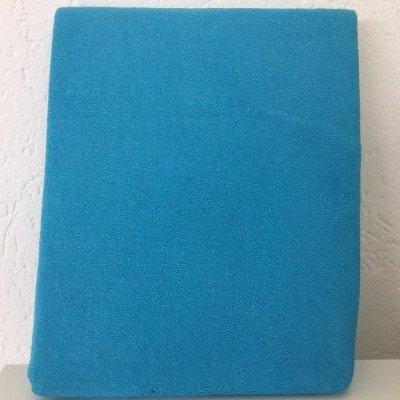 Hoeslaken ledikant 60x120 - Badstof Turquoise