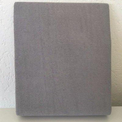 Hoeslaken ledikant 60x120 - Badstof Grijs