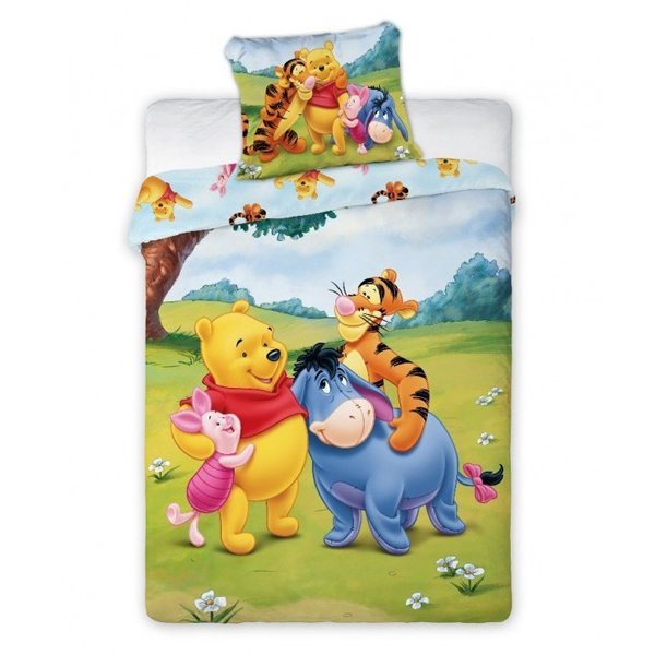 Winnie the Pooh dekbedovertrek ledikant 100x135