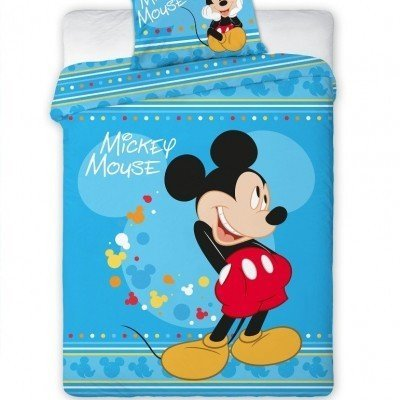 Dekbedovertrek ledikant 100x135 - Mickey Mouse